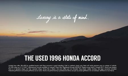 Honda Accord 96 video