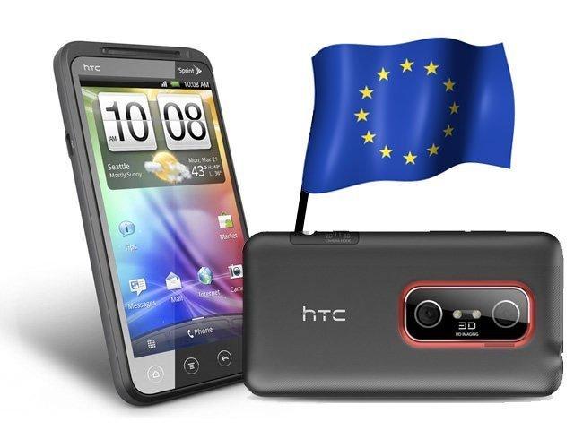 HTC EVO 3D españa