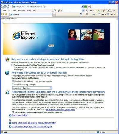Microsoft se pone las pilas con su Internet Explorer 7