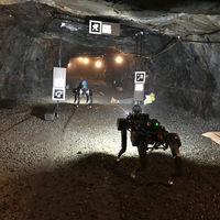 PLUTO, un perro-robot autónomo diseñado para rescatar personas en túneles profundos, rocosos y sin mapear
