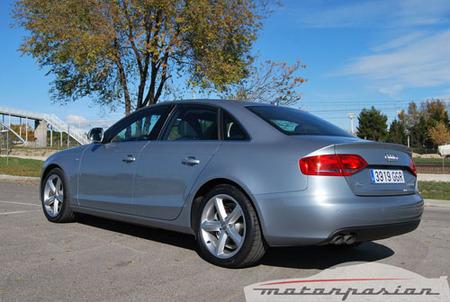 Audi A4 TDI Multitronic, prueba (parte 3)