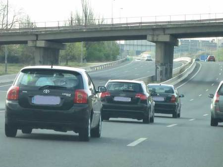 La distancia de seguridad, la gran ignorada
