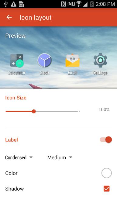 Nova Launcher Beta Con Material Design 4 7