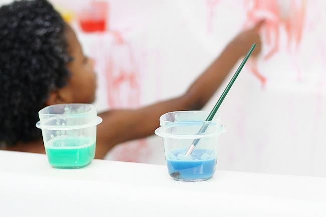 pintura bañera niños