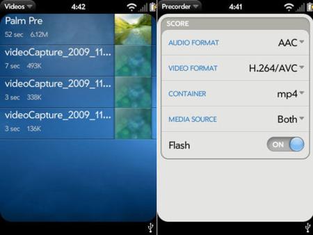Grabación de vídeo no 'oficial' para la Palm Pre