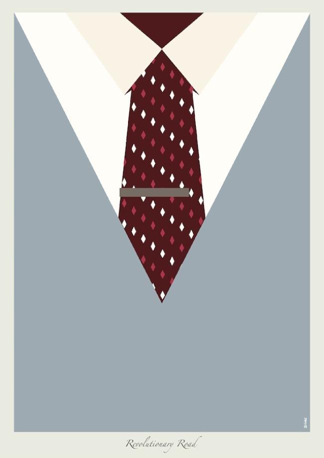 Foto de Las corbatas de Dicaprio en ilustraciones (1/9)