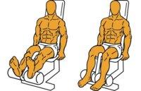 Guía para principiantes (LI): Curl de piernas sentado en máquina