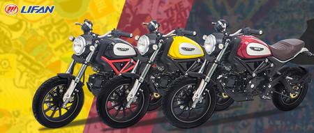 Lifan Hunter Copia China Ducati Scrambler 3