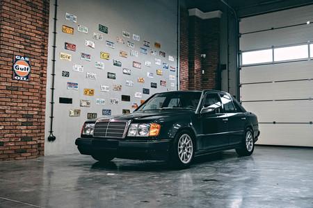 Este raro Mercedes Clase E con motor BMW M fue el principio del fin para la firma de tuning que lo creó