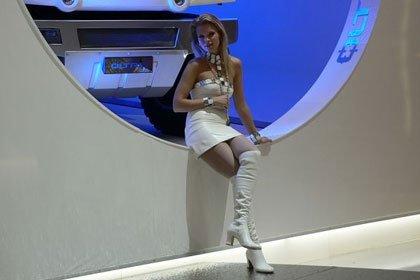 Chicas salón de Ginebra / Geneva Motor Show Babes