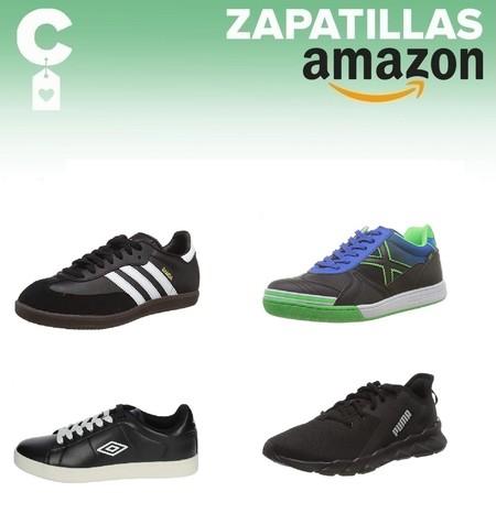 Chollos en tallas sueltas de  zapatillas Adidas, Puma o Munich en Amazon por menos de 40 euros