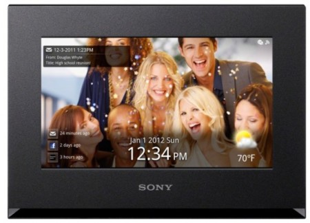Sony DPF-WA700, marco de fotos digital con conectividad WiFi