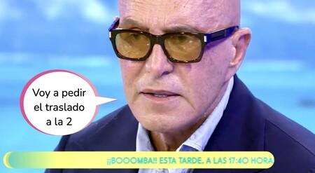 El enfado de Kiko Matamoros con Mediaset: regresa a 'Sálvame' y critica el papel de Rocío Carrasco en Telecinco