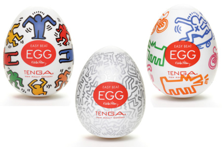 Tenga Egg Keith Haring