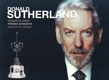 Donald Sutherland recibirá el Premio Donostia del Festival de San Sebastián 2019