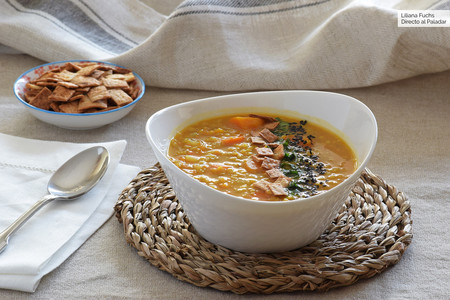 Sopa egipcia de lentejas rojas