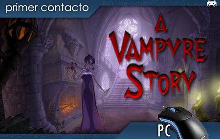 'A Vampyre Story'. Primer contacto