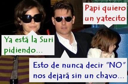 Tom Cruise y las niñeras cienciológicas