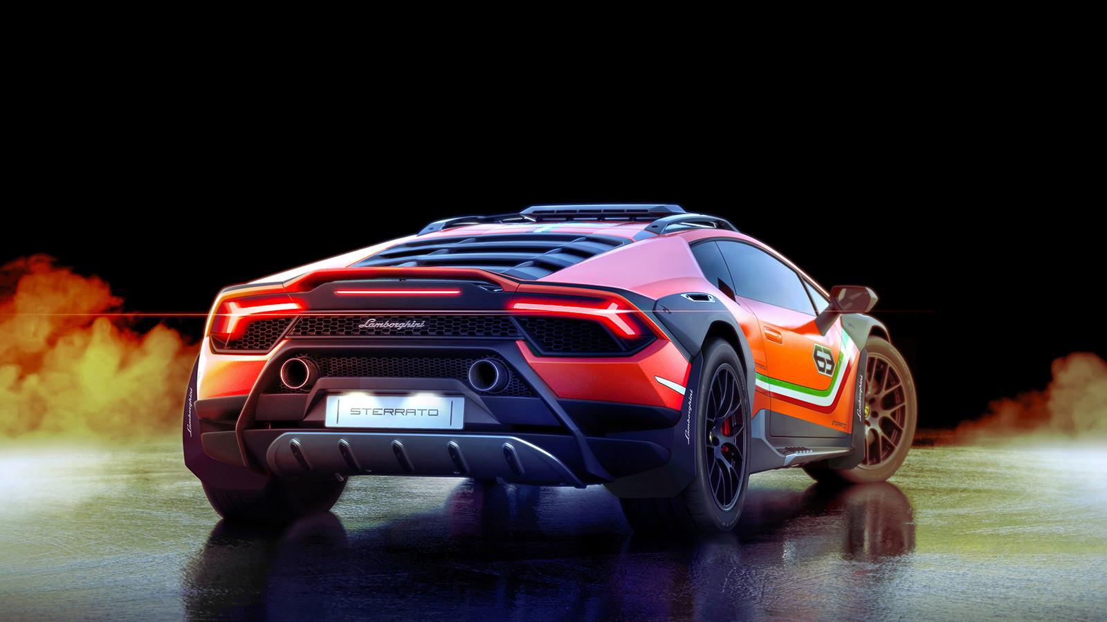 Foto de Lamborghini Huracán Sterrato Concept (4/7)
