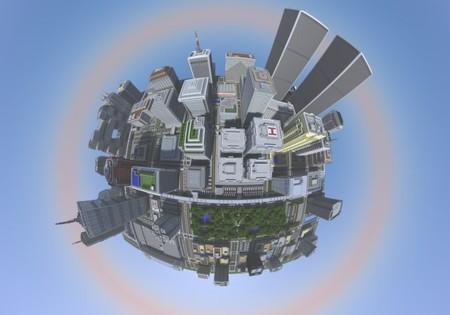18 meses para hacer la mayor ciudad construida en Minecraft