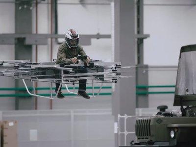 El fabricante del AK-47 se suma a la carrera por los coches voladores con su primer prototipo