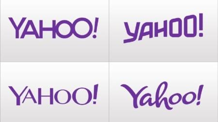 El camino de Yahoo! hacia un nuevo logo. La imagen de la semana