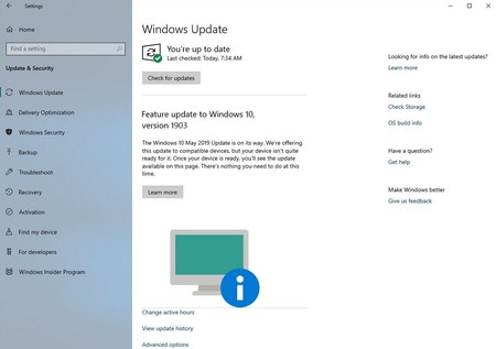 Windows 10 Version 1903 1