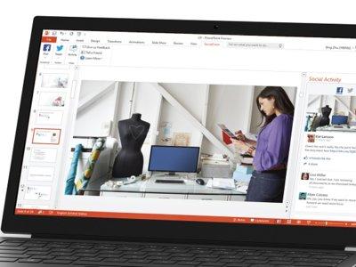 Comparte tus presentaciones en PowerPoint con Microsoft Social Share
