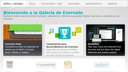 Evernote se prepara para ser una plataforma de productividad