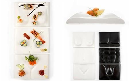 Distintas formas de presentar el sushi