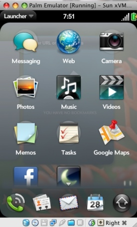Palm miniPre, siguiente teléfono con webOS