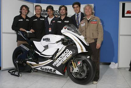 Presentado el equipo Onde 2000 con Sete Gibernau