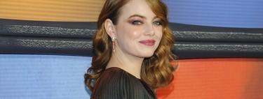Emma Stone se convierte en la mujer de bronce y luce así de espectacular para la première de 'Maniac'