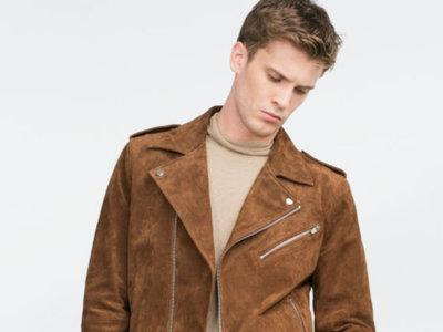 Oda a la piel: chaquetas moteras, cazadoras, bombers y muchas más prendas componen la colección de Zara dedicada a este material