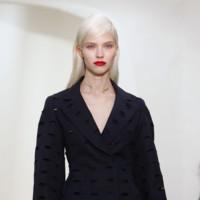 detalle chaqueta negra Christian Dior Alta Costura Primavera-Verano 2014