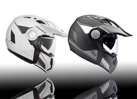 GIVI X.01 Tourer, casco off-road convertible en jet