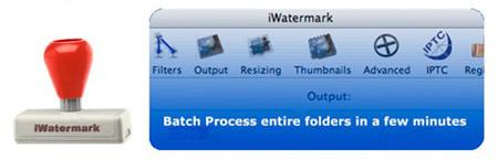 iWatermark, sencilla aplicación para marcas de agua