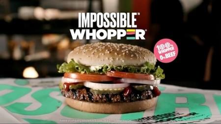 Llega a Burger King la nueva Impossible Whopper: una hamburguesa sin carne y 100% vegetal
