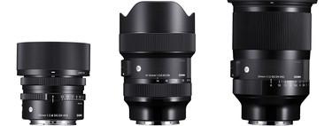 Sigma 35mm F1.2 DG DN, 14-24mm F2.8 DG DN y 45mm F2.8 DG DN: los nuevos objetivos para las sin espejo full frame de montura E y L
