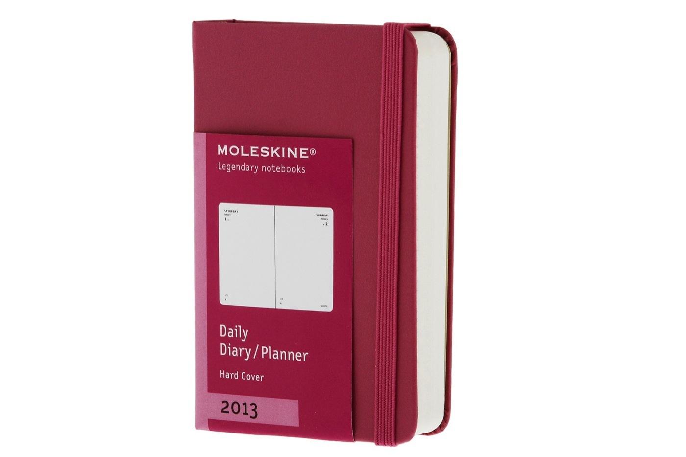 Agendas 2013 Moleskine en colores