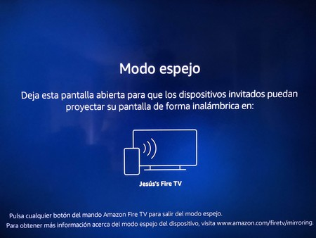 Fire Tv Stick 4K Modo Espejo