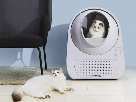Xiaomi hasta para las mascotas: CATLINK es el arenero inteligente para gatos que se limpia solo