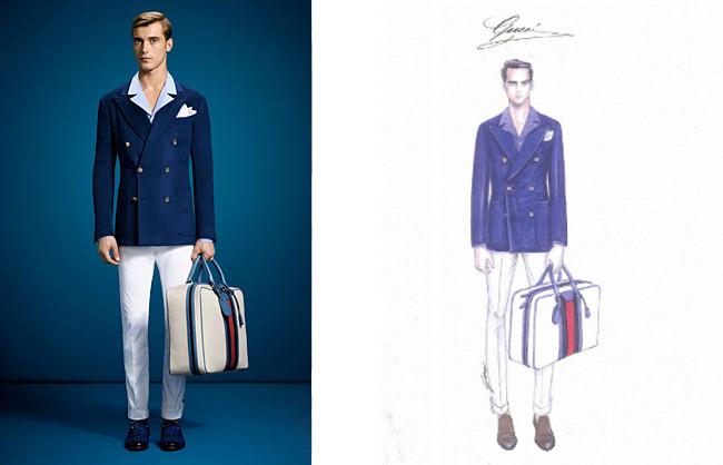 Lapo Wardrobe Gucci Brera