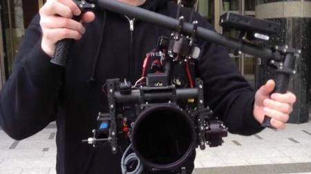 MoVI: sistema de estabilización portátil para grabar video con DSLR