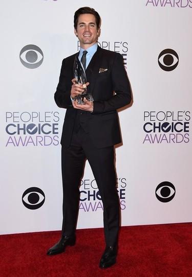 Los hombres más elegantes de los People's Choice Awards