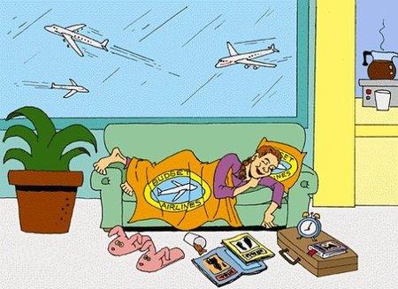 Los mejores y los peores aeropuertos para dormir