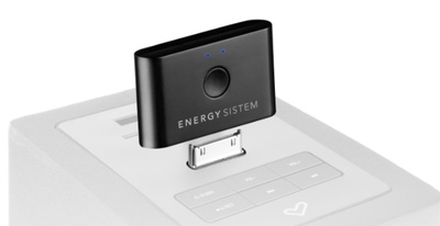 Energy Blouetooth Music Receiver añade bluetooth a tu altavoz para iPod o iPhone