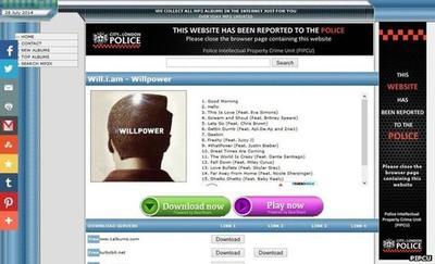 Reino Unido cambia los anuncios por avisos de la policía en las webs P2P