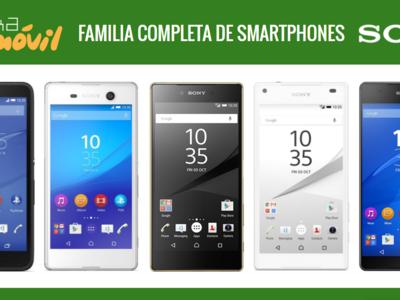 Así queda el catálogo de smartphones Sony tras la llegada del Xperia M5