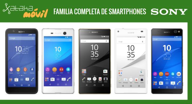 Catalogo Completo Smartphones Sony